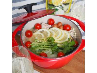 具材を更に美味しくする、爽やかな柑橘系の香り♪人気のオリジナル鍋 ...