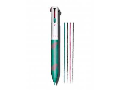 あの「ボールペン型コスメ」に新色登場。気分が上がるパッケージとカラーで夏メイクを楽しんで!フォーカラー マルチペン 4,200円(税抜)限定発売