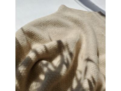 「大人の女性の日常着」を提案する『Pao de lo(パオデロ)』からトレサビリティなカシミアニットが登場!