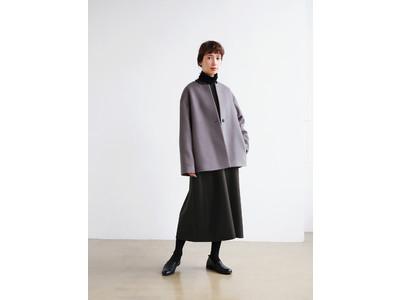 大人女性の日常着『Pao de lo(パオデロ)』が提案する、家庭洗濯OKの「ふっくら中綿ロングコートが新登場!