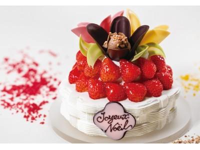 まるでクリスマスの花園…!可愛すぎる新ブランド「TOKYOチューリップローズ」が、初のクリスマスケーキを発表