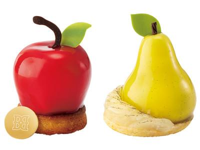 実りの秋に頬張りたい、りんごと洋梨!新ブランド『バターステイツ』のフレッシュケーキから、新作が登場