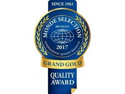 株式会社リツビ 「2017年度モンドセレクション」で最高金賞を含む各賞を受賞