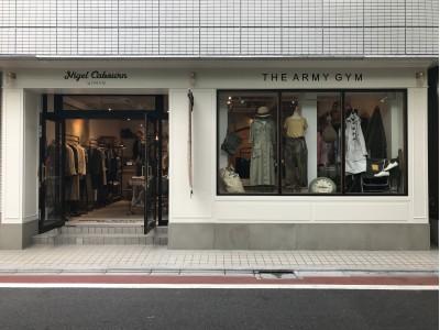 Nigel Cabourn WOMAN THE ARMY GYM Nakameguro Store新店グランドオープンのお知らせ