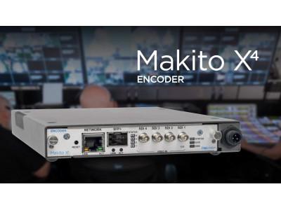 パブリックネットワークで4Kビデオコンテンツの高品質、かつ、低遅延な伝送を! Haivision社 4K 超低遅延ビデオエンコーダ「Makito X4」の販売を開始