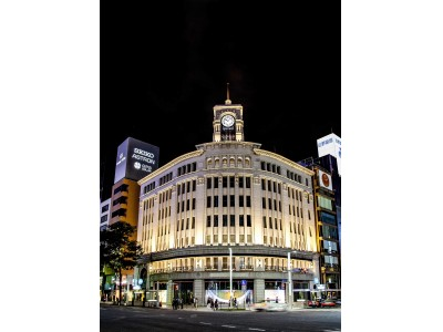 various colors 82b72 2e50e 銀座・和光の時計塔から平成最後の年の始まりを告げる 「新年の ...