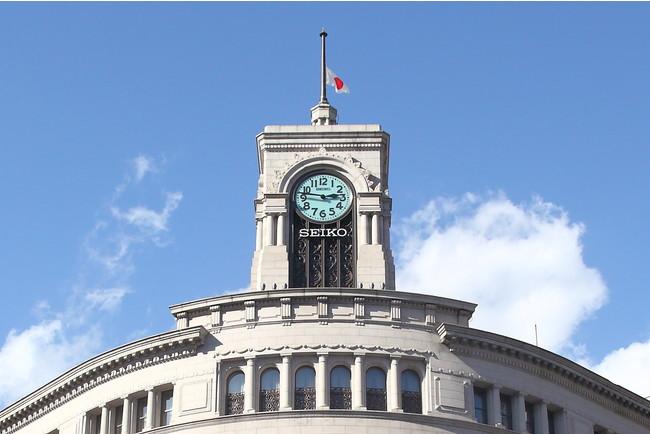 3月11日(木)、和光の時計塔から「未来への希望の鐘」を鳴らします。