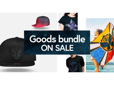 「Tomorrowland 」チケット&公式グッズがセットになる『Goods bundle』が日本限定で販売開始!2020年7月9日(木)~19日(日)