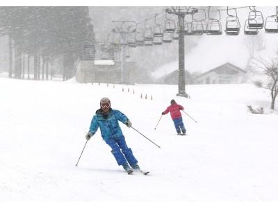 奥伊吹スキー場「滋賀県内 最速オープン」!!積雪45センチ!4カ月のロングシーズンに期待!!