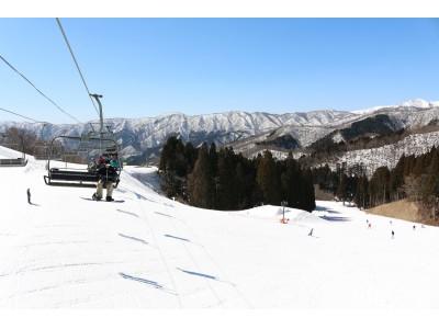 【4月8日】まで営業決定!「春スキー」を楽しめる滋賀県の奥伊吹スキー場!