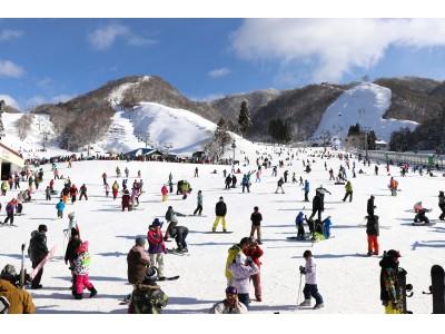 「日本最速高速リフト」&「施設の魅力アップ」効果!!【過去最多】月間入場者数「6万4951人」!滋賀県の奥伊吹スキー場