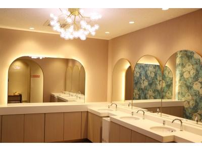 「女性専用トイレ」が完成!!グランスノー奥伊吹の「スキー場の山の中」でもこのお洒落感とクオリティーを実現!