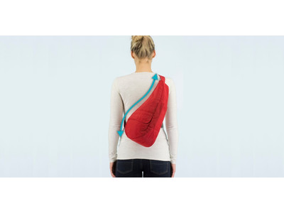 【肩・腰・背中にやさしいバッグ】軽やかな着け心地の秘密は体との一体感を高める「しずく型」<ヘルシーバックバッグ >10月の期間限定イベント&ポップアップ情報