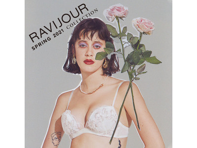 RAVIJOUR 2021 SPRING COLLECTION「NEW WAVE(ニュー・ウェイブ)」が公開。