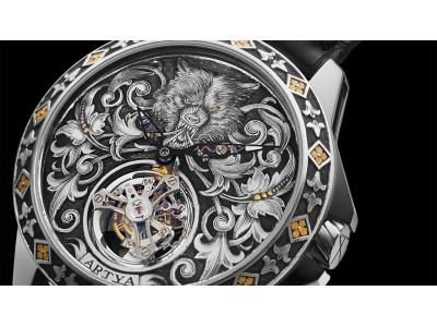 バーゼルワールド2018 新作腕時計 アーティア ウルフトゥールビヨン