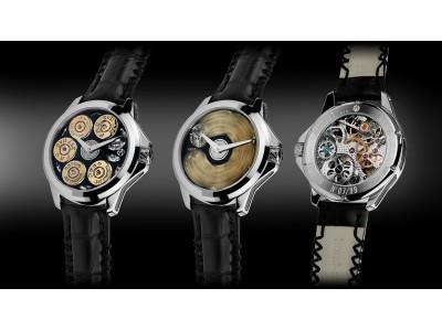 スイス時計ブランド アーティアが5発の弾丸を込めた究極のロシアンルーレットを発売!