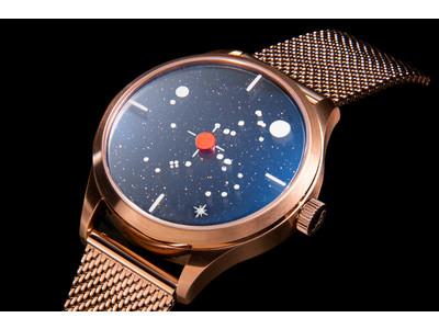 天体と時空が交わる究極のファンタジー!トリフォグリオ イタリアの新作はミステリーダイアルの回転ディスク時計