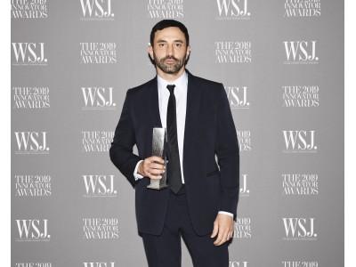 WSJマガジンが贈る2019年のイノベーター・アワードをリカルド・ティッシが受賞
