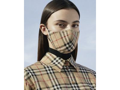 バーバリー ヴィンテージチェックのマスクの発売をスタート