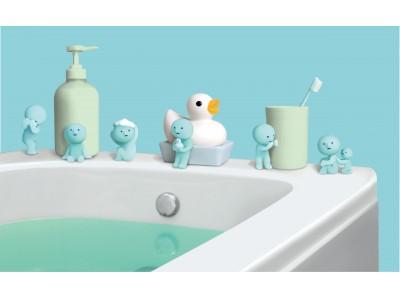 お風呂とトイレで青いスミスキーを発見!?フィギュアシリーズ「スミスキー」から新シリーズが発売決定!