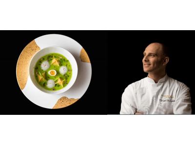 ジョエル・ロブションのエグゼクティブシェフ ミカエルが贈る 初夏の食材を使用したお料理