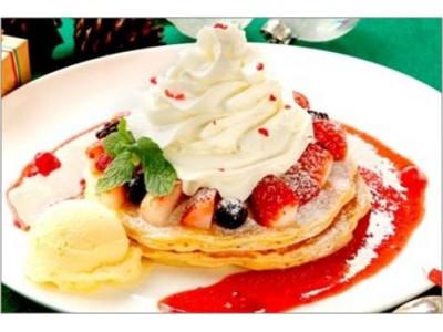 クア・アイナの冬の期間限定メニュー!見た目も華やかな「クリスマスパンケーキ」が登場!