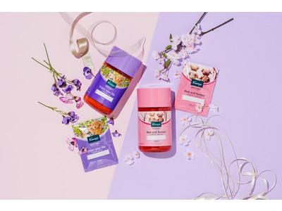メッセージとともに春を贈ろう クナイプ メッセージバスソルト シリーズ クナイプ バスソルト サクラの香り/クナイプ バスソルト スミレの香り