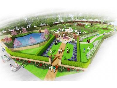 ロックハート城25'thアニバーサリー新規施設『William's Garden』2018年4月28日(土)オープン予定