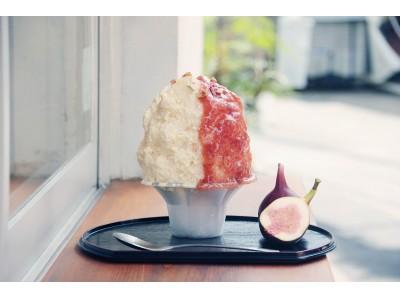 こっくりとした和の味わいに秋の訪れを感じる「白みそチーズといちじくのかき氷」新発売!日本茶スタンドカフェ八屋 千駄ヶ谷店限定で9月2日(月)より販売開始