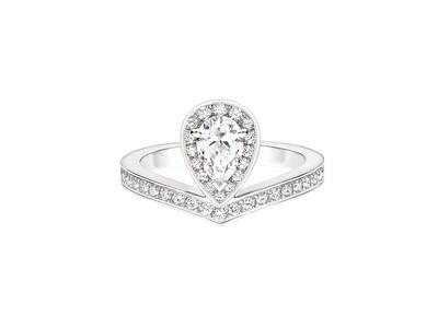 ショーメ、「ジョゼフィーヌ」コレクション エグレット 新作ダイヤモンド リングが5月1日発売