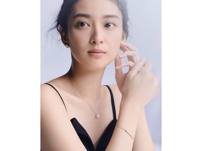 ショーメ、人気のコレクション「ビー マイ ラブ」ジャパンアンバサダーの武井咲さんが纏うハニカムの輝き