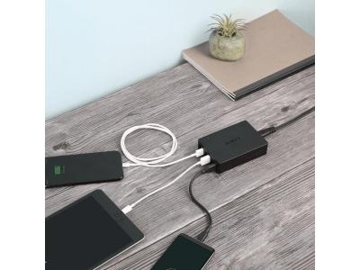 AUKEY Quick Charge 3.0 対応の6ポートUSB充電器PA-T11が1000円オフ、タブレットなど一気に6台まで対応!