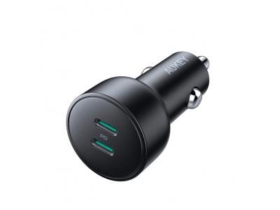 フルスピード充電と安全性を両立した次世代車載充電器「AUKEY CC-Y10」が30%オフ、2ポートともUSB PD3.0対応!