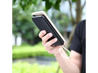 懐中電灯を搭載した携帯性にすぐれたAUKEY 10000mAh大容量モバイルバッテリーPB-N51が1599円、超薄型で軽量!