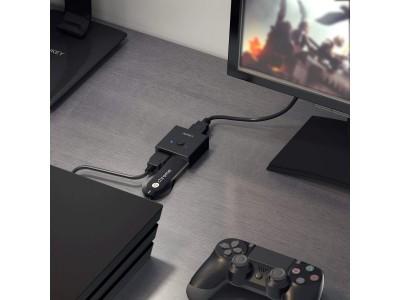 テレビのHDMIが足りない悩みを解決!手のひらサイズHDMIセレクター「AUKEY HA-H04」が30%オフ♪