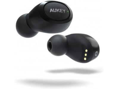 フィット感抜群な HI-FI高音質の完全ワイヤレスイヤホン「AUKEY EP-T16S」が40%オフ!300台限定♪