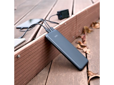 Lightning&Micro&USB-Cポートを全部一台に揃える超便利なバッテリ!AUKEYの自信作大容量20000mAh モバイルバッテリー PB-Y14が新発売! お出かけにはこれ1台で大満足