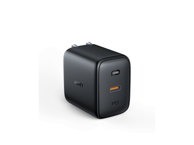 AUKEY 61W最小最軽量 GaN充電器PA-B2Sが30%オフ!超コンパクトでハイパワー