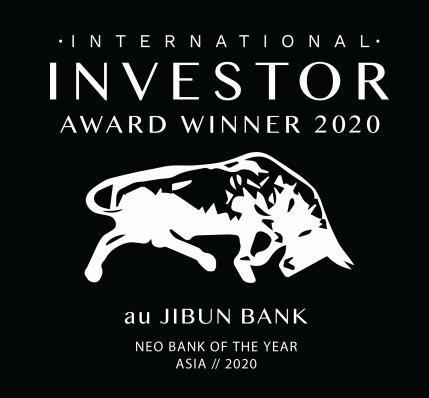 英メディア主催「International Investor Awards 2020」にてアジアを代表する新業態銀行として「Neo Bank of the Year // Asia 2020」を受賞