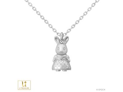 【シルバニアファミリー】ショコラウサギの女の子、ペルシャネコの女の子、くるみリスの男の子を立体的に表現したネックレスを販売開始