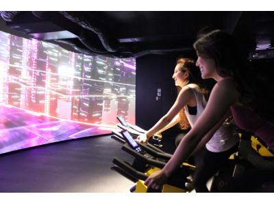 「CYCLE & STUDIO R Shibuya」サイクル専用のVRスタジオを映像&暗闇ワークアウトスタジオにパワーアップ!!