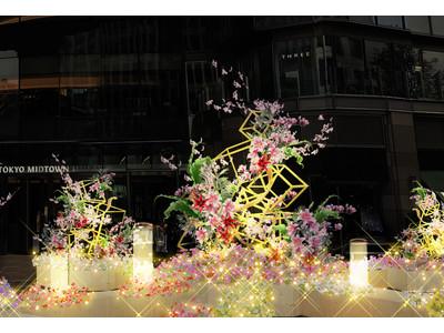 【東京ミッドタウン日比谷】本日開業から3周年!感謝を込めてお花の無料配布実施 3/26~4/18「HIBIYA BLOSSOM 2021」お花に癒される3weeks開催中!
