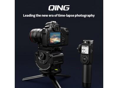 FeiyuTech、ミラーレス/一眼レフカメラ用自動雲台「QING」オンライン限定発売開始