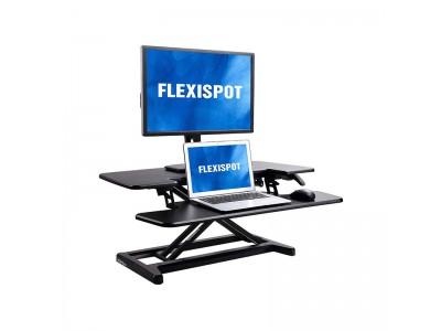 【新商品】FlexispotスタンディングデスクM17MB(卓上タイプ)登場