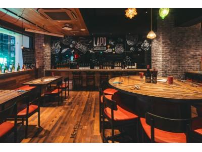 量り売りの飛騨牛ステーキが期間中なんと半額!! お腹いっぱい赤身肉と霜降り肉を楽しんでいただける、六本木のワインバル「Grill&Wine LAPO」のオープン一周年記念キャンペーンがスタート!!