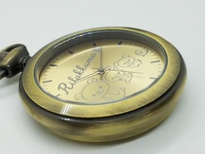 リラックマ 懐中時計を予約販売開始!