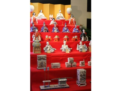 やきものの町・有田でおひなめぐり「第15回有田雛(ひいな)のやきものまつり」開催!