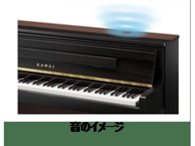 河合楽器のデジタルピアノ「CA99」、「CA79」に当社加振器、スピーカー採用