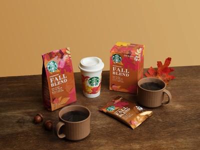 スターバックス(R)の秋季限定コーヒーに手書きのメッセージを添えて、心あたたまるコーヒータイムを!「スターバックス(R) シーズナル コレクション フォール」9月1日(水)より期間限定で発売開始