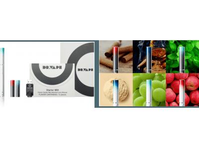 スタイリッシュなデザインで話題の新世代の電子たばこ「DR.VAPE(ドクターベイプ)」2018年3月の公式サイトでの販売開始以降、わずか1年で累計販売本数1,000,000本を突破!
